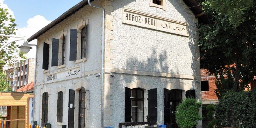 Fransızların yaptığı tarihi tren istasyonu eğitim yuvası oldu