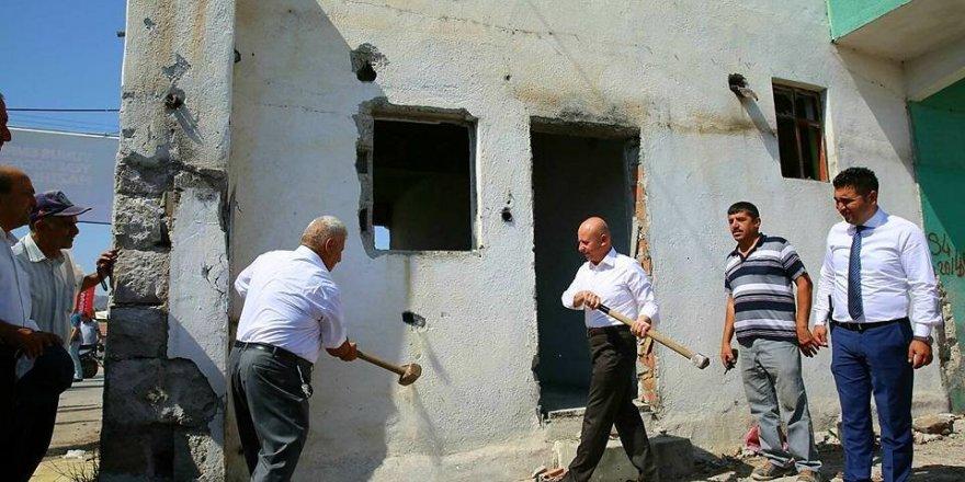 Yunus Emre Mahallesinde kentsel dönüşüm çalışmaları başlıyor