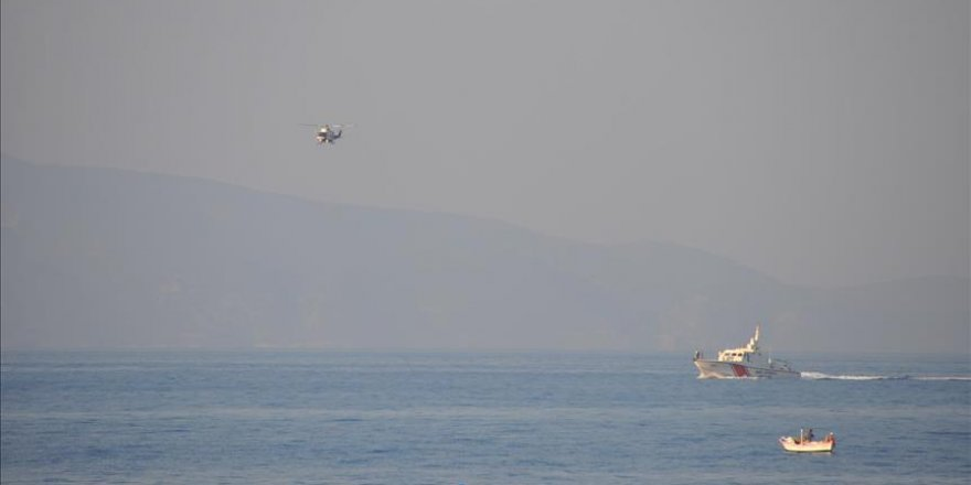 9 die as migrant boat sinks off Turkey's Aegean coast