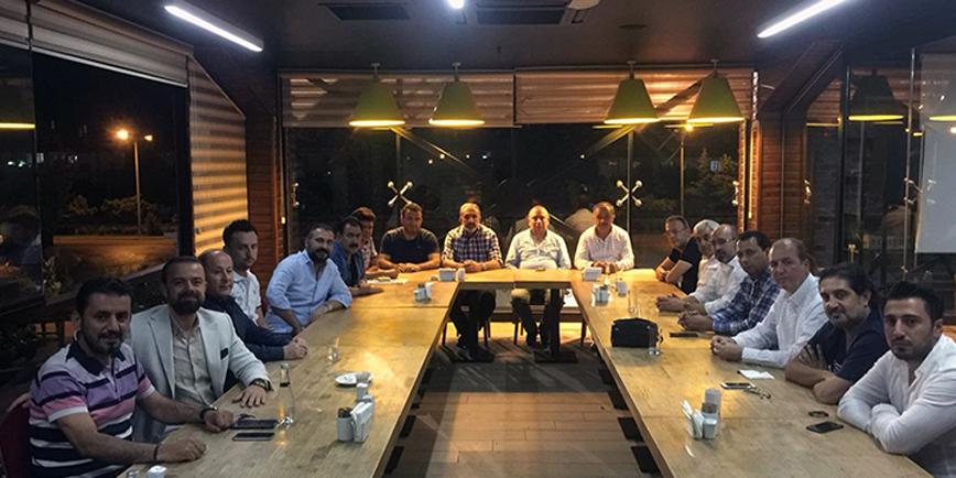Konyaspor yönetimi dün toplandı