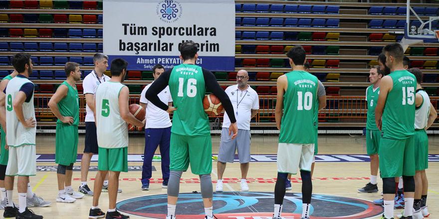 Selçuklu Basket harıl harıl!