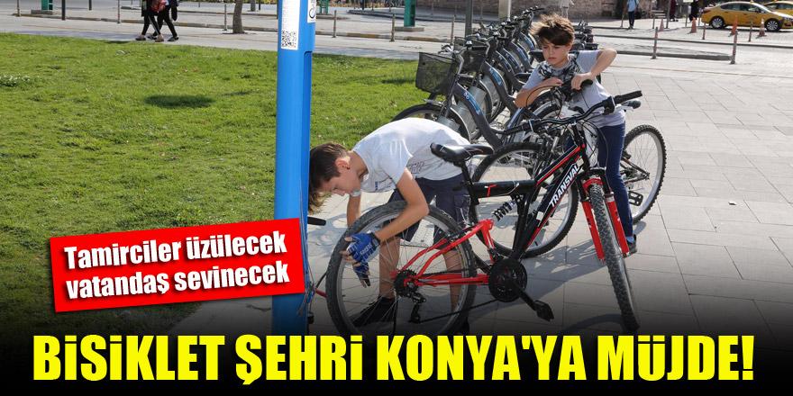 Bisiklet şehri Konya'ya müjde! Tamirciler üzülecek ama vatandaş sevinecek