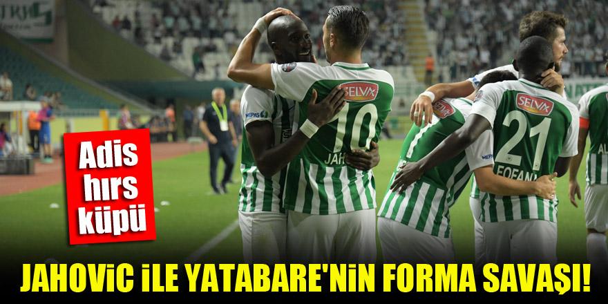 Konyaspor'da Jahovic ile Yatabare'nin forma savaşı!