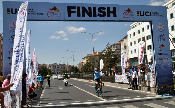Uluslararası Kapadokya Bisiklet Turu'nun ilk etabı, Nevşehir'de yapıldı