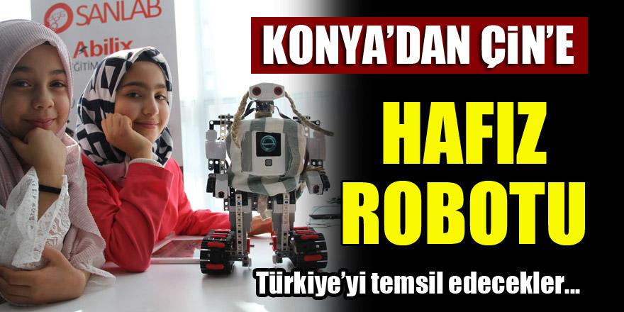 Konya'dan Çin'e hafız robotu!