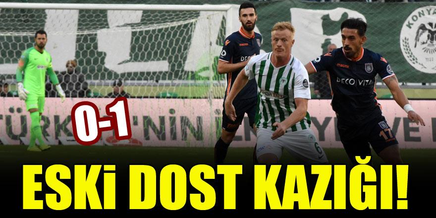 Eski dost kazığı! Atiker Konyaspor 0-1 Başakşehir