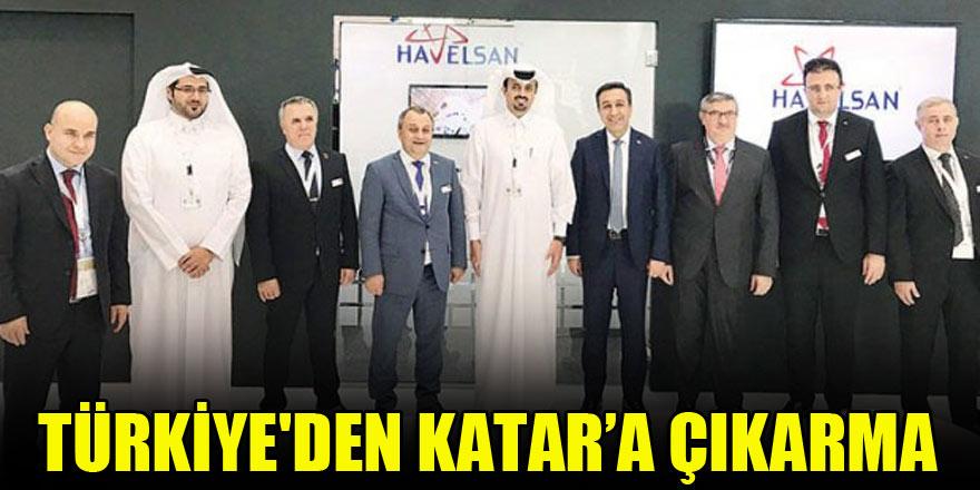 Türkiye'den Katar'a çıkarma
