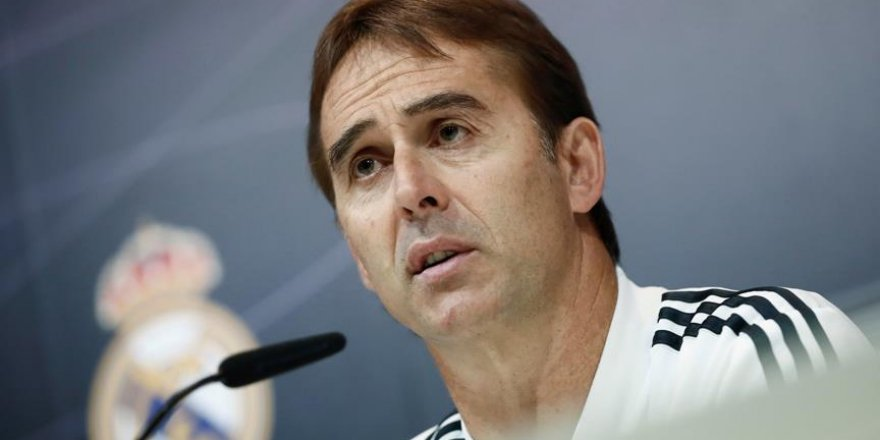 Real Madrid'de Lopetegui dönemi 4 ay sürdü