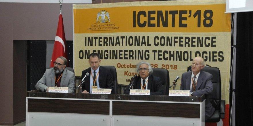 Selçuk'ta Uluslararası Mühendislik Teknolojileri konferansı