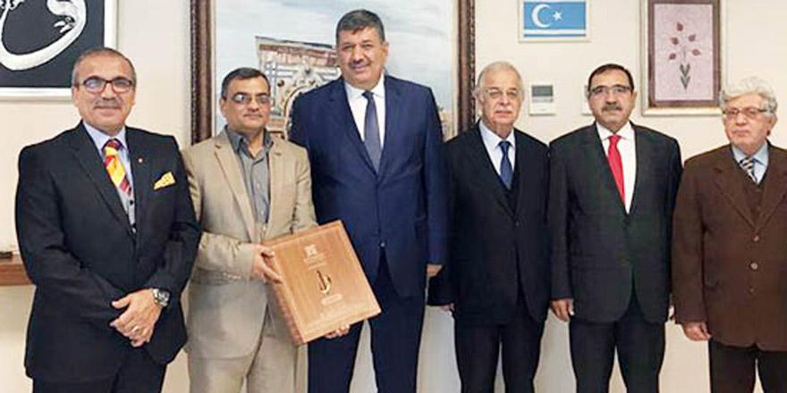 Irak Diyale Üniversitesi'nden, Bayram Sade'ye ziyaret