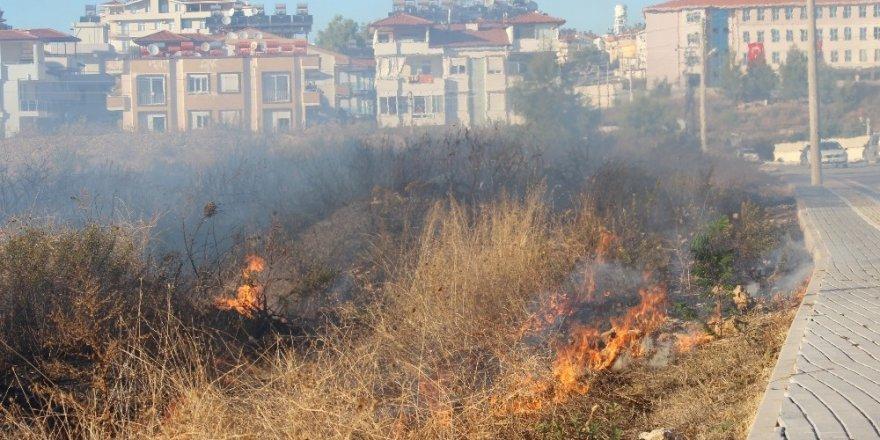 Antalya'da 2 noktada orman yangını