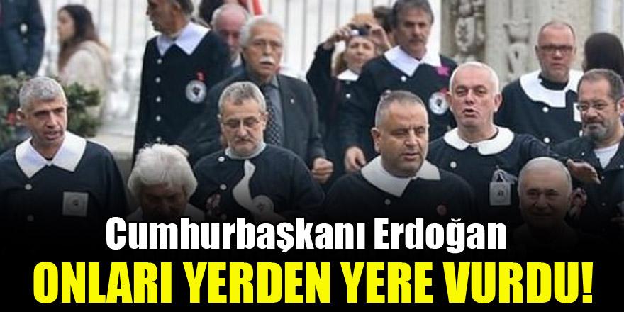 Erdoğan'dan andımızı okuyamayan CHP'lilere tepki
