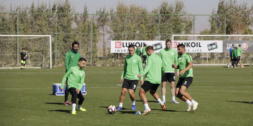 Konyaspor, Maraş maçına hazır!