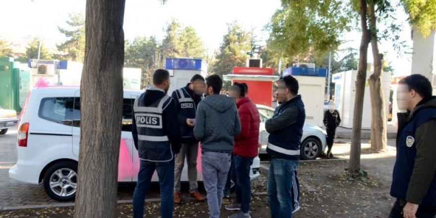 Nevşehir'de huzur operasyonu yapıldı