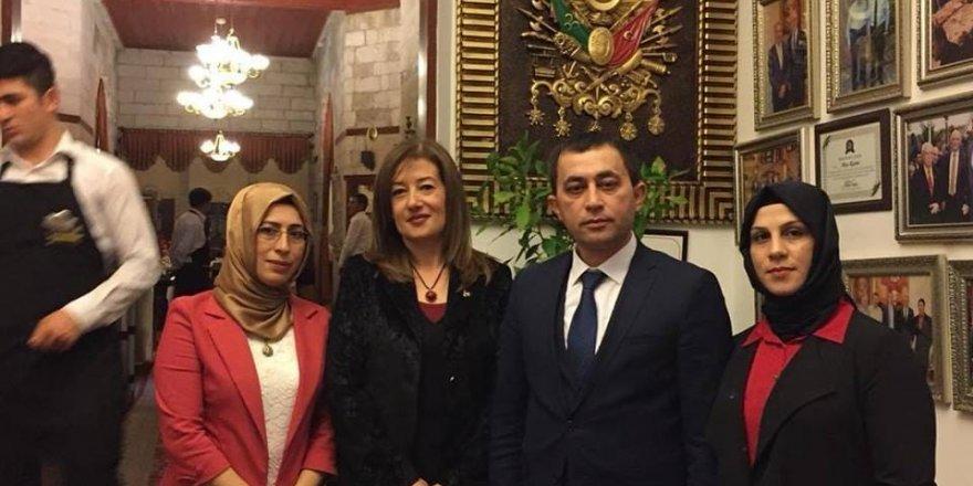 MHP Belediye Başkan Adayı Önder, Talaslı kadınlarla bir araya geldi