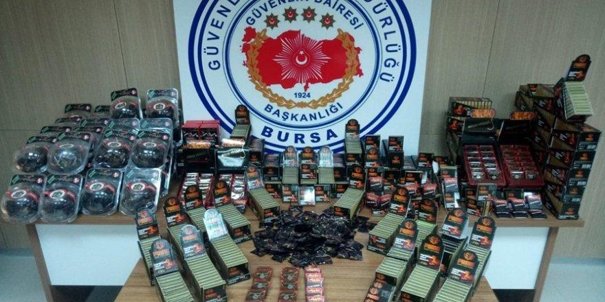Bursa'da 100 bin lira değerinde cinsal ilaç ele geçirildi