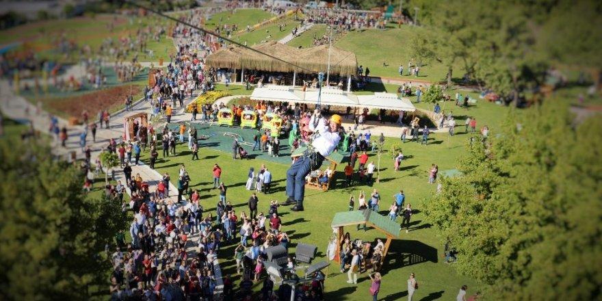 Burunucu Macera Parkı'na ziyaretçi akını