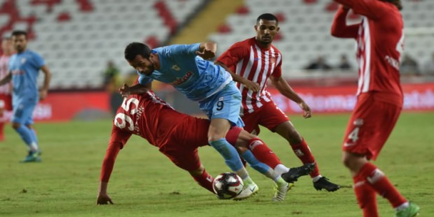 Antalyaspor 120+3'te kupaya tutundu