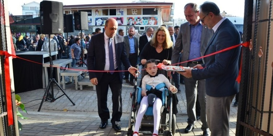 Biga'da rehabilitasyon merkezi açıldı