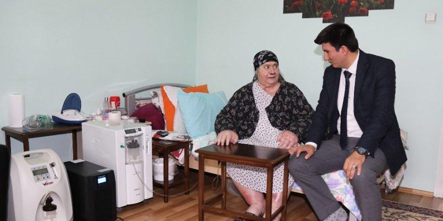 Van Büyükşehir Belediyesinden kanser hastasına destek