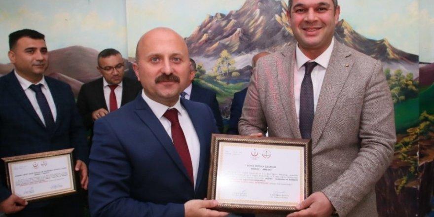 Amasya'da 150 okula beyaz bayrak