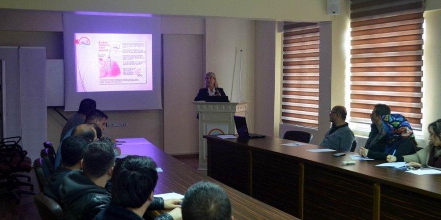 Şarbon hastalığı eğitim toplantısı