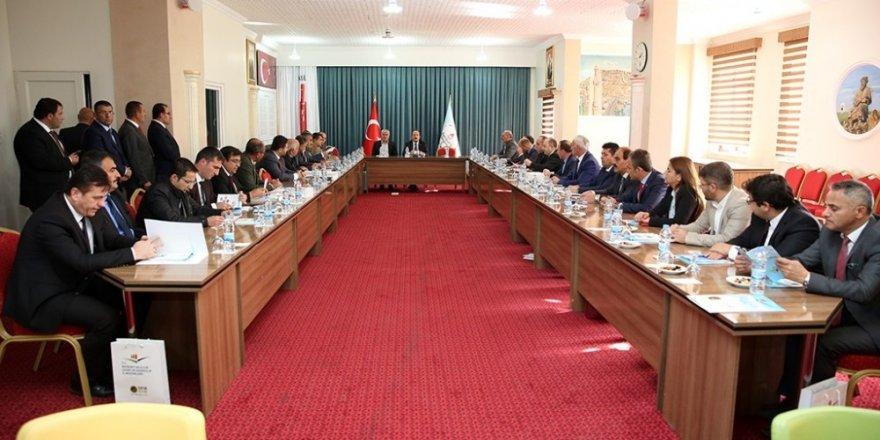 Bayburt'ta 'Sıfır Atık Projesi' değerlendirme toplantısı