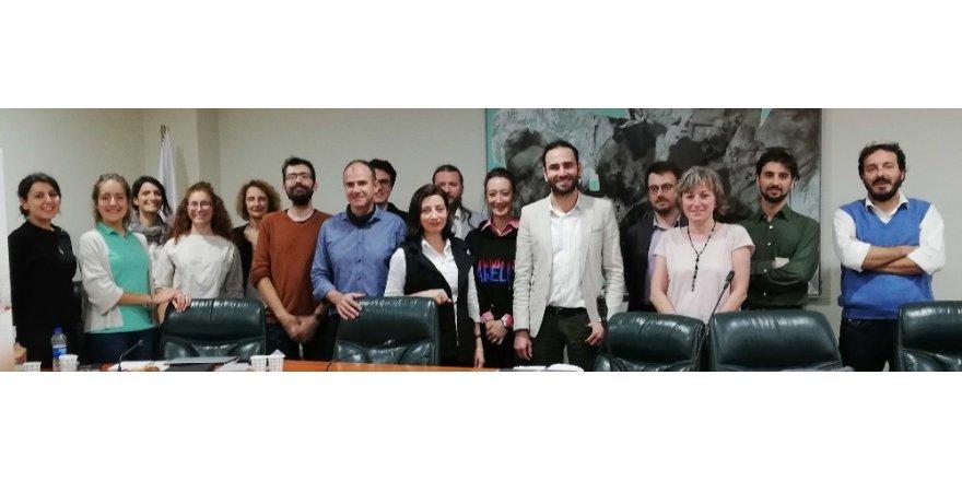 """GAÜN """"Timeline Travel"""" projesi ekibi İstanbul'da"""