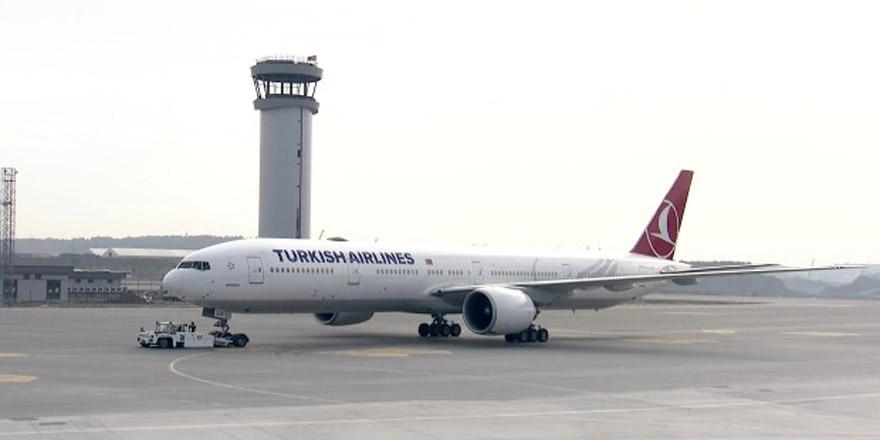 İstanbul Havalimanı'nda ilk uçuş gerçekleşti!
