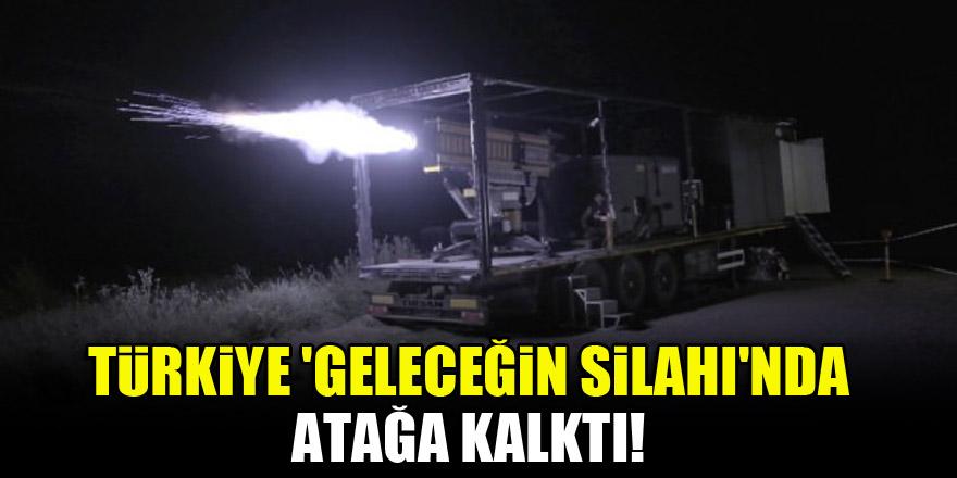 Türkiye 'Geleceğin Silahı'nda atağa kalktı!