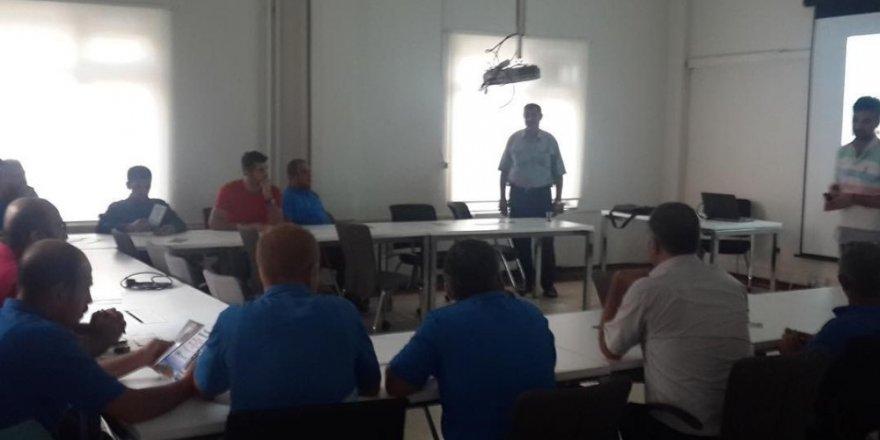 """PTT ve TP çalışanlarına """"Narko Rehber Projesi"""" anlatıldı"""