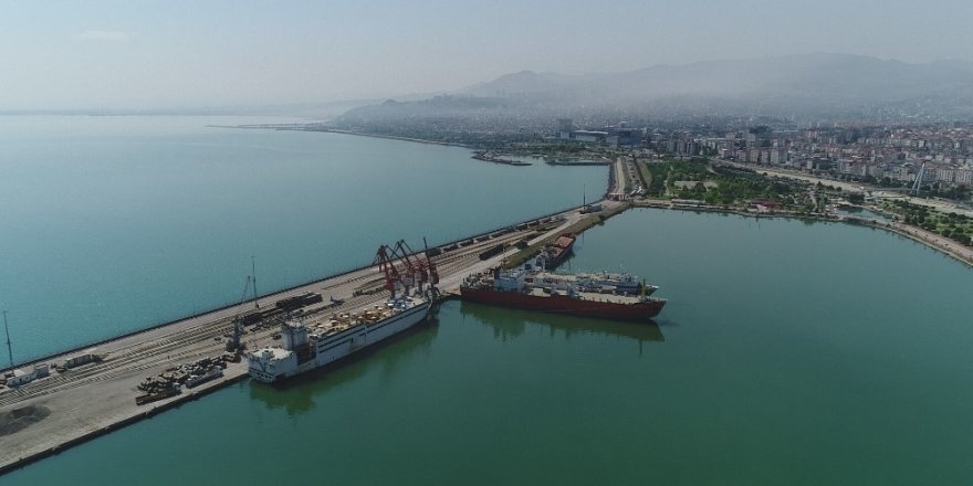 Samsun'da ihracat yüzde 103,4 arttı, ithalat yüzde 44,8 azaldı