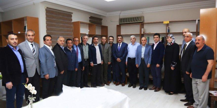 Başkan Gürkan Tabip Odası Yönetimi ile bir araya geldi