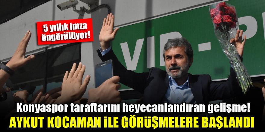 Konyaspor taraftarını heyecanlandıran gelişme! Aykut Kocaman ile görüşmelere başlandı