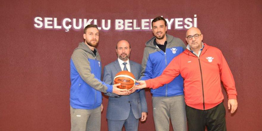 Selçuklu Basket'ten Pekyatırmacı'ya ziyaret