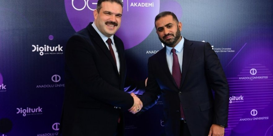 """Anadolu Üniversitesi ve Digitürk """"beIN AKADEMİ"""" iş birliğiyle yola çıkıyor"""