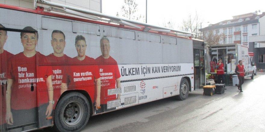 Kızılay'dan hayatını kaybeden şehitler anısına kan bağışı kampanyası