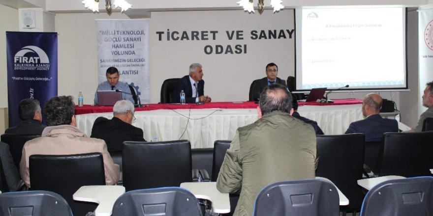 """Tunceli'de """"Milli Teknoloji, Güçlü Sanayi Hamlesi"""" toplantısı"""