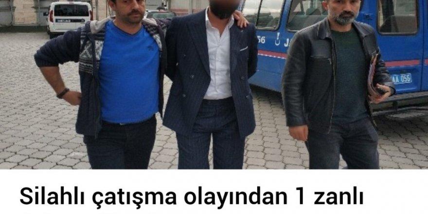 Gazino önündeki silahlı yaralamaya gözaltı