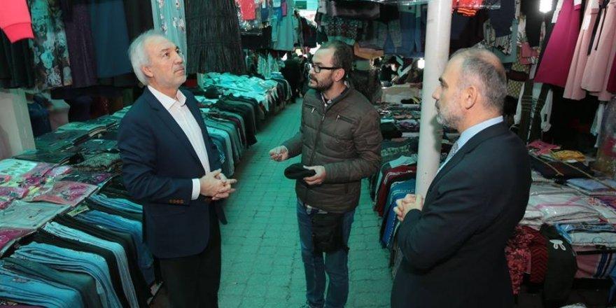 Başkan Kamil Saraçoğlu: Esnaflarımızın yanındayız