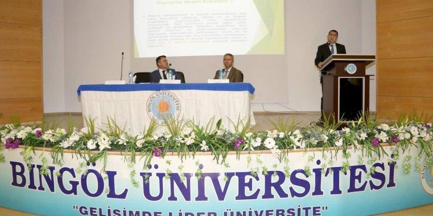 Bingöl Üniversitesinde 'Buzağılar Ölmesin' paneli