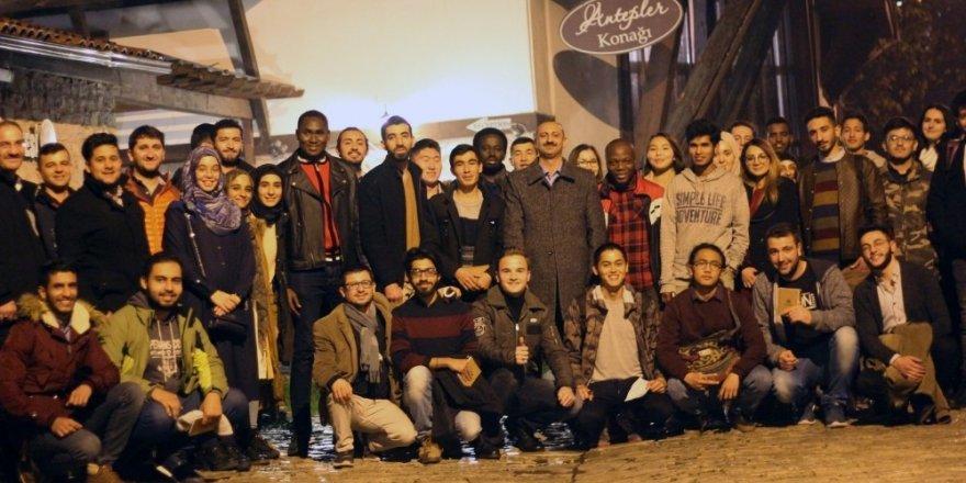 Uluslararası öğrenci temsilcileri ile istişare toplantısı gerçekleştirildi