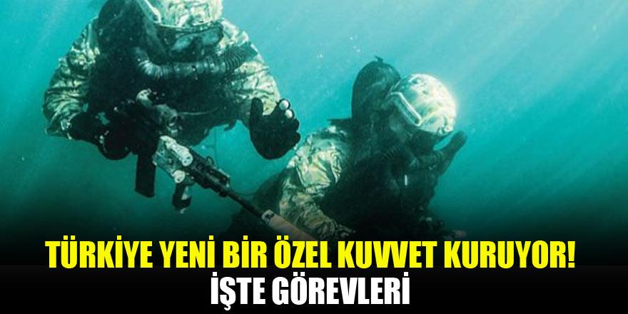Türkiye yeni bir özel kuvvet kuruyor! İşte görevleri