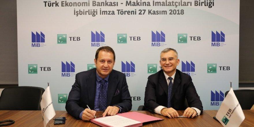 Makina İmalatçıları Birliği ve TEB'ten işbirliği