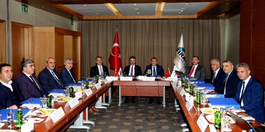 FKA Kasım ayı yönetim kurulu toplantısı Malatya'da yapıldı