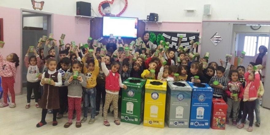 Gaziantep'te 165 bin öğrenciye sıfır atık ve çevre bilinci eğitimi