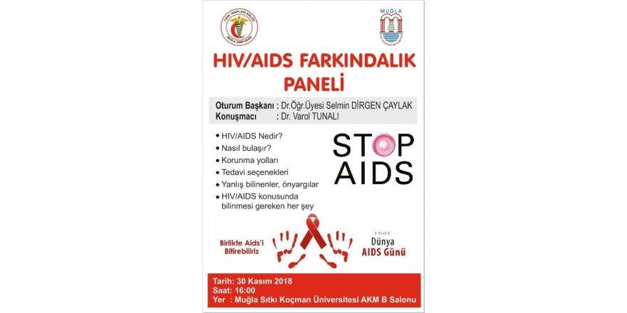 MSKÜ'de HIV/AIDS bilgilendirme toplantısı
