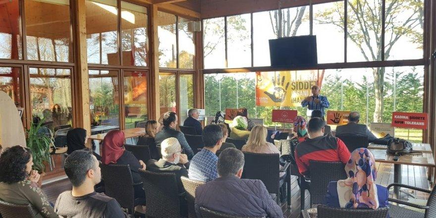 Macera Park'ta 'Kadına Şiddet Değil Muhabbet' semineri