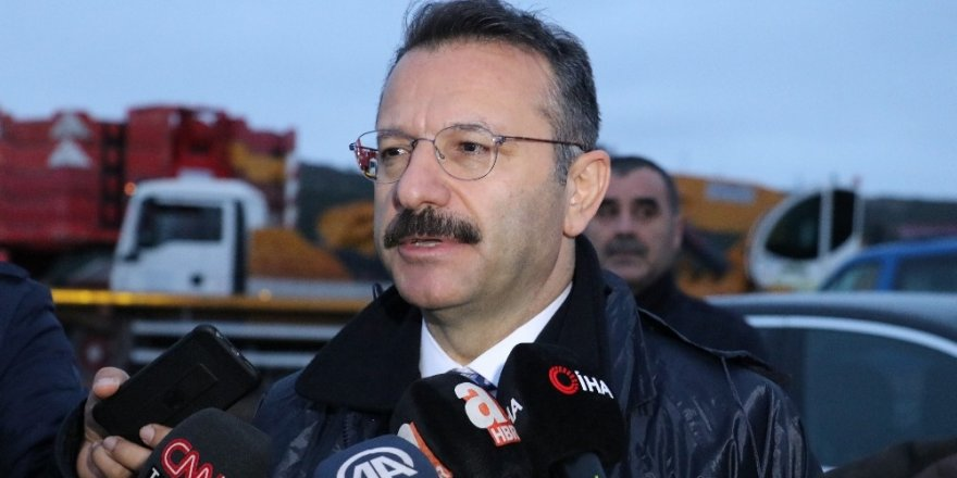 Kuzey Marmara Otoyolu'nda meydana gelen göçükte 1 kişinin daha cansız bedenine ulaşıldı