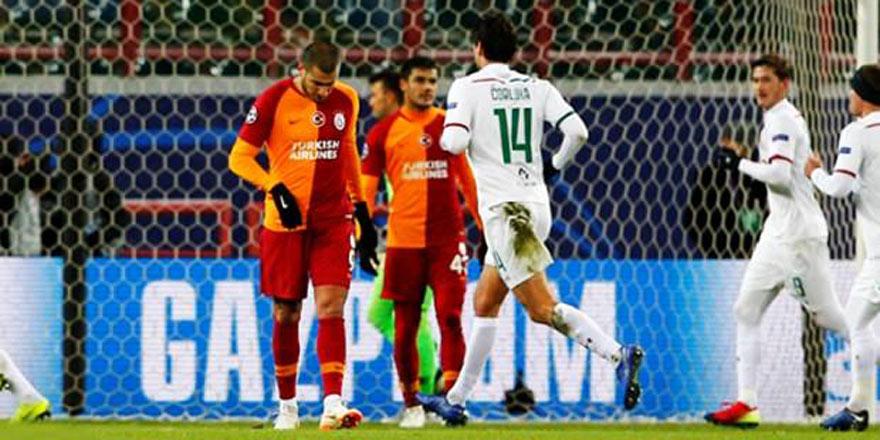 Galatasaray Şampiyonlar Ligi'ne veda etti!